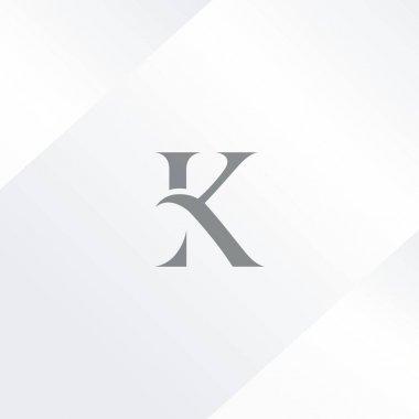 K Single Letter Logo