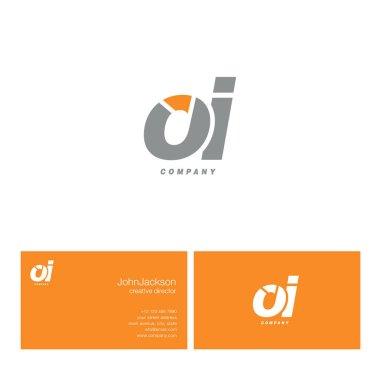 O & I Letter Logo