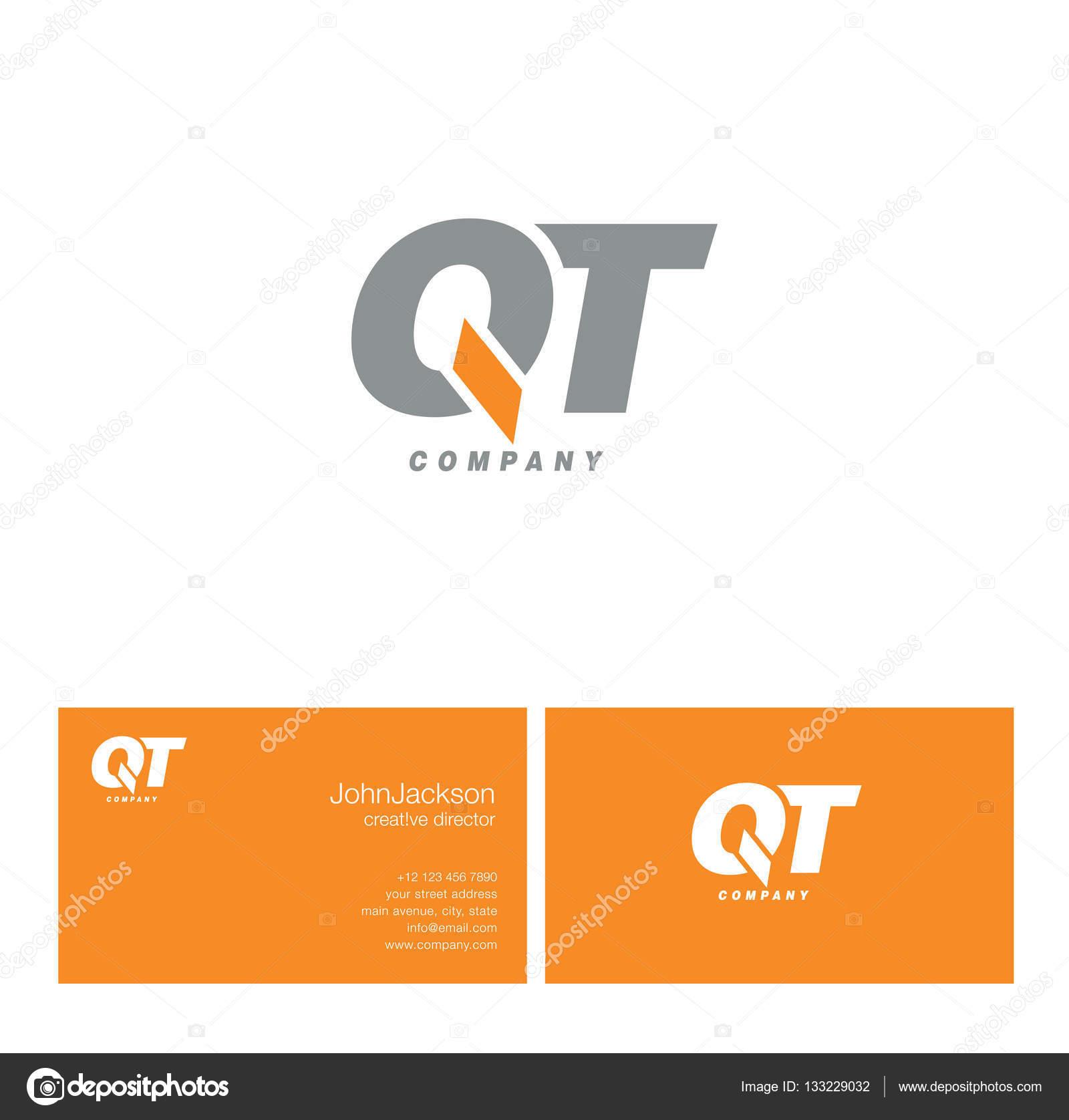 Q t carta logotipo do vetor de stock brainbistro 133229032 q t carta logotipo do vetor de stock stopboris Images