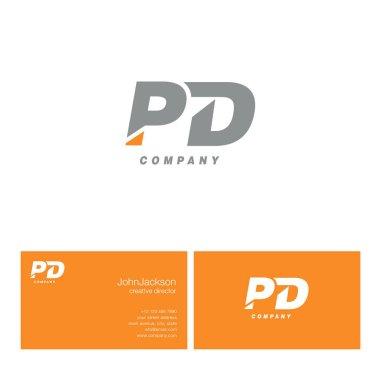 P & D Letter Logo