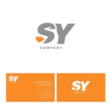 S & Y Letter Logo