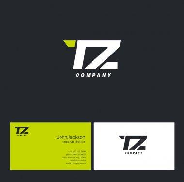 T & Z Letter Logo