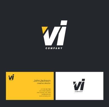 V & I Letter Logo