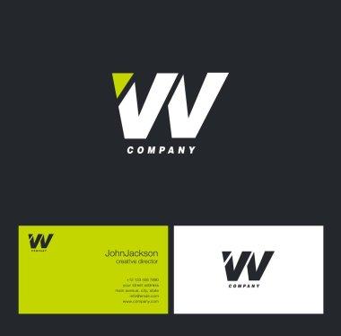 V & V Letter Logo