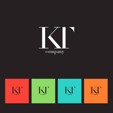 K & T Letter Logo