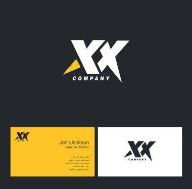 X & X Letter Logo