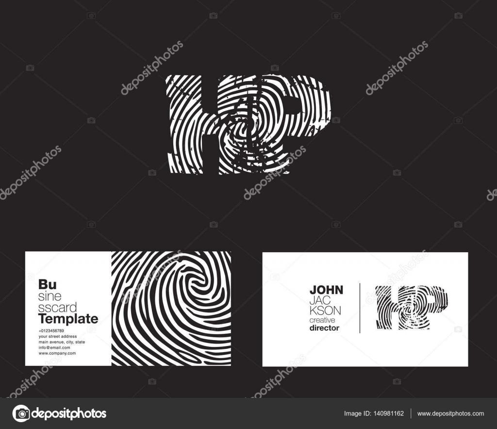 HP Letters Company Logo — Stock Vector © brainbistro #140981162
