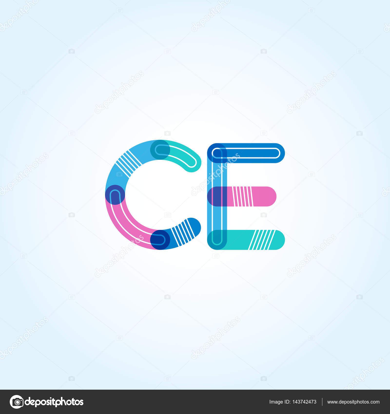 Ce logo free vector in adobe illustrator ai (. Ai ) vector.