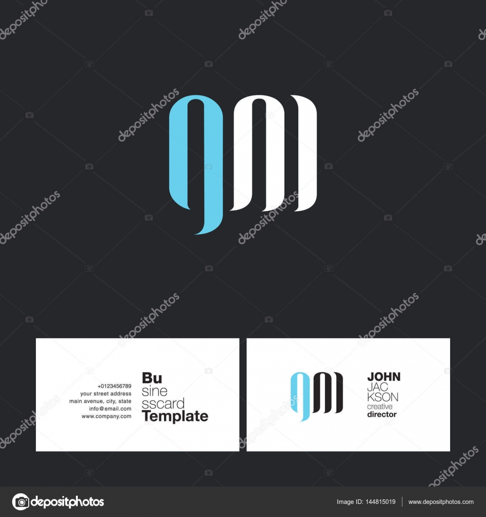 Gm letters logo business card stock vector brainbistro 144815019 gm letters logo business card stock vector colourmoves