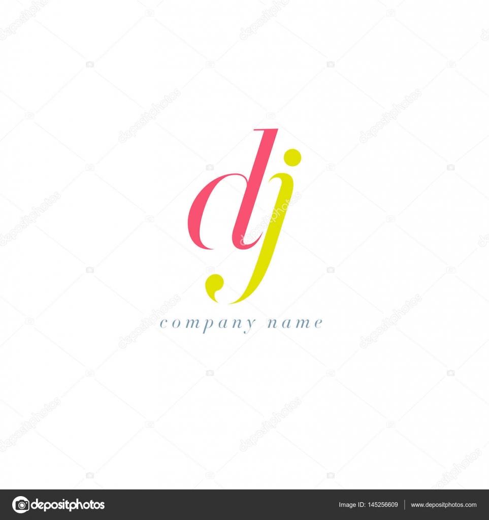 DJ Letters Logo template — Stock Vector © brainbistro #145256609
