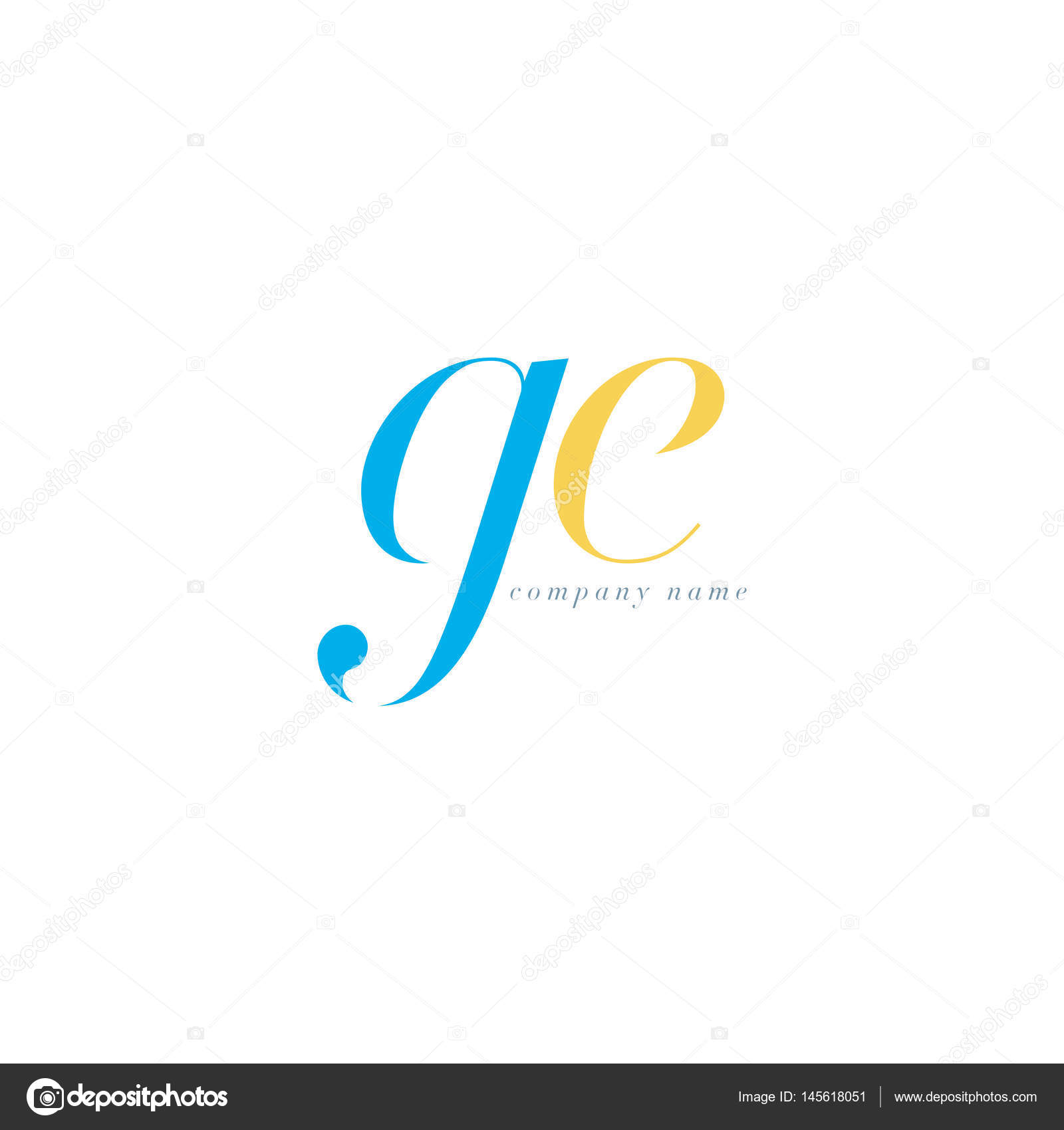 Ge letters logo template stock vector brainbistro 145618051 ge letters logo template stock vector biocorpaavc Gallery