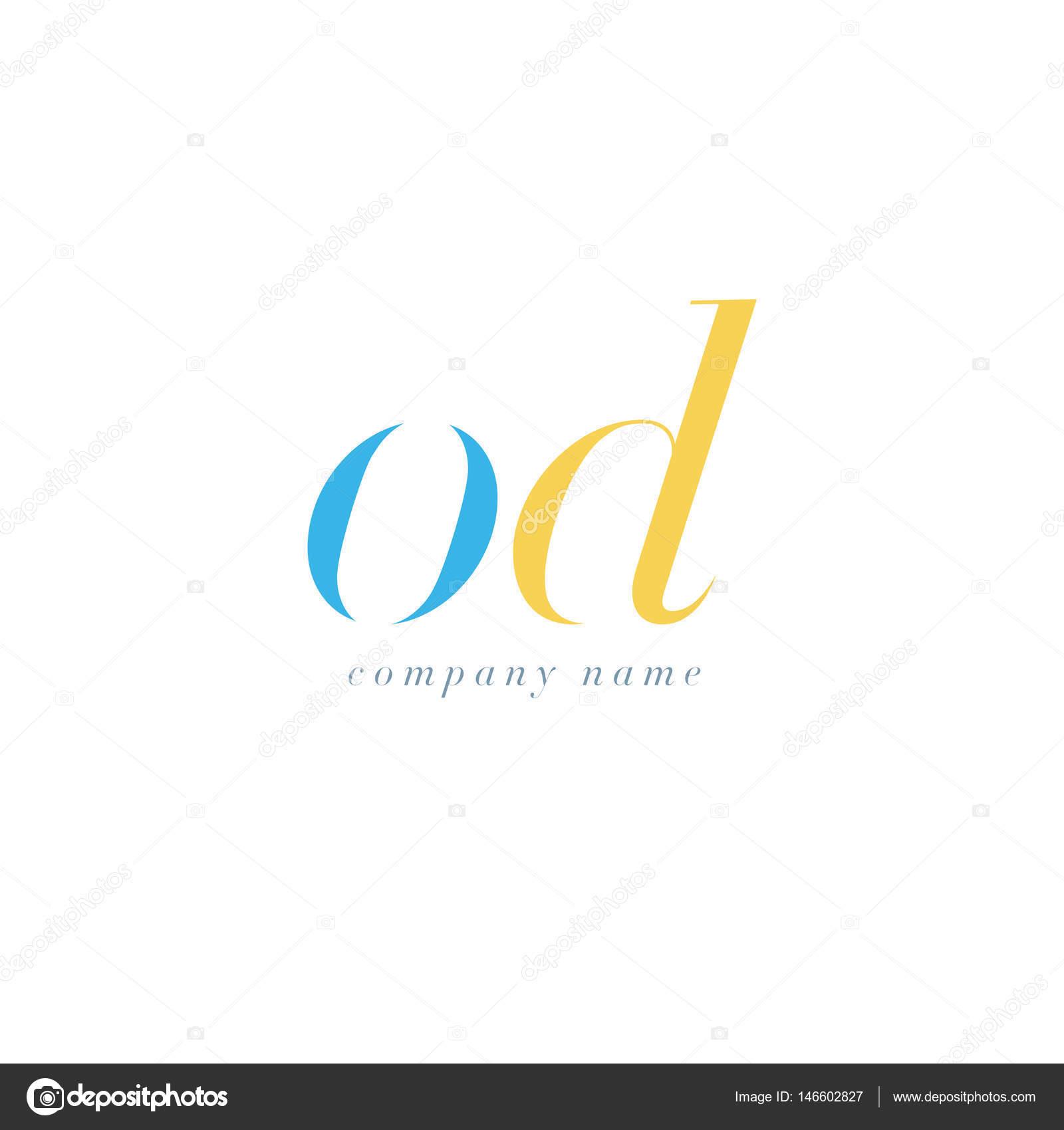 OD Letters Logo template — Stock Vector © brainbistro
