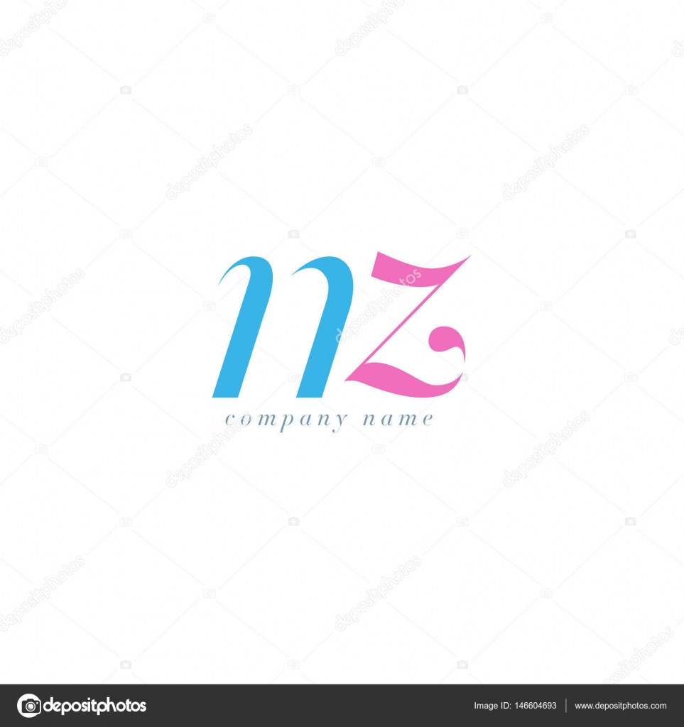 Nz letters logo template stock vector brainbistro 146604693 nz italics joint letters logobusiness card template vector vector by brainbistro reheart Images