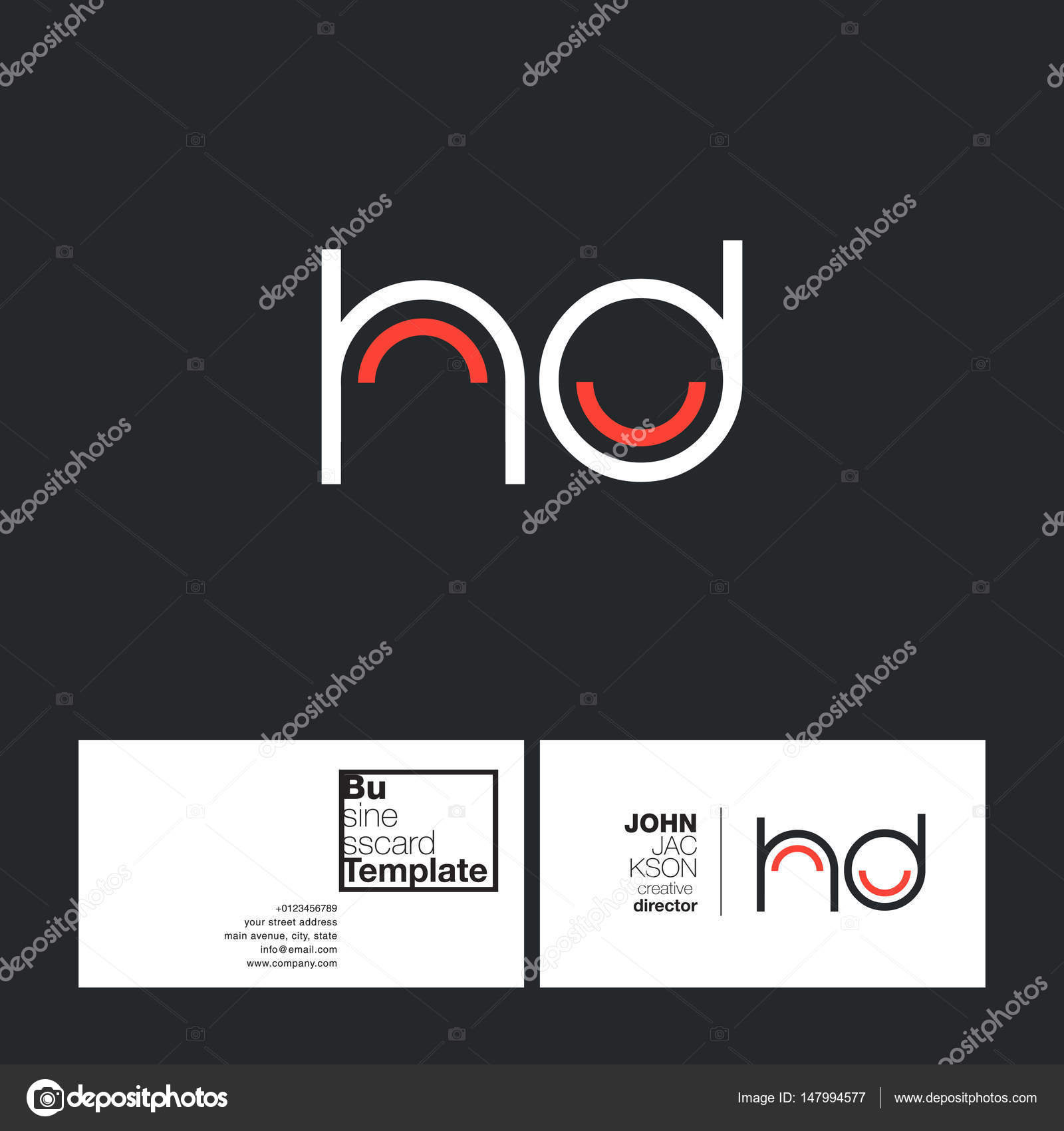 Round letter logo hd stock vector brainbistro 147994577 round letter hd company logo with business card template vector illustration corporate identity vector by brainbistro thecheapjerseys Image collections