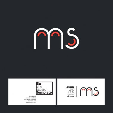 round letters logo MS