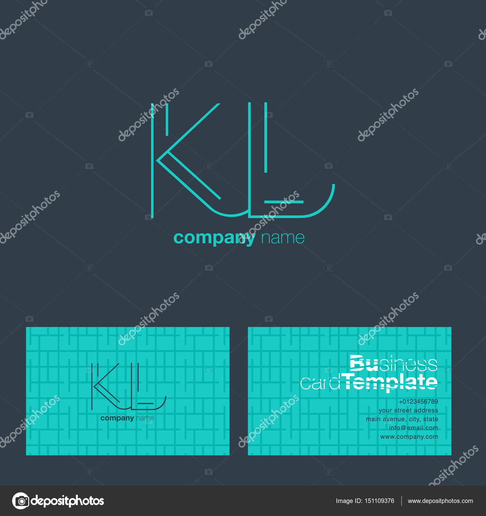 Kl letters logo business card stock vector brainbistro 151109376 kl letters logo business card stock vector reheart Choice Image