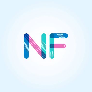 NF connected letters logo