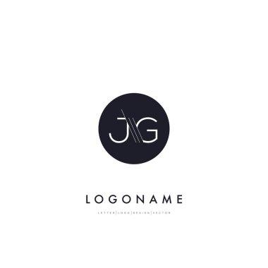 JG letters company Logo