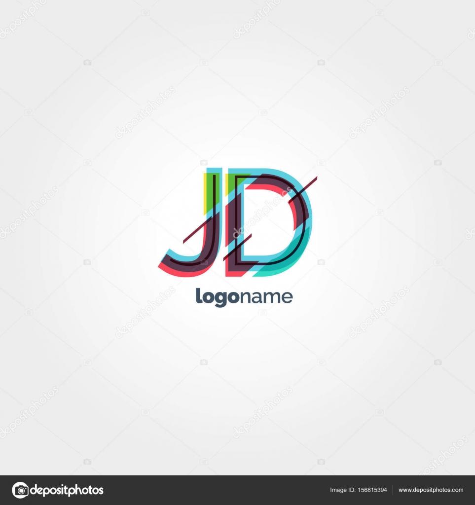 ᐈ j d logos stock vectors royalty free jd logo images download on depositphotos https depositphotos com 156815394 stock illustration multicolour letter logo jd html