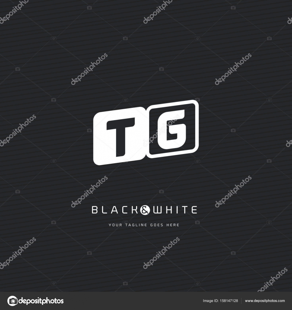TG Letters Logo Business Card — Stock Vector © brainbistro #158147128