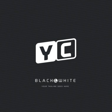 YC Letters Logo Business Card