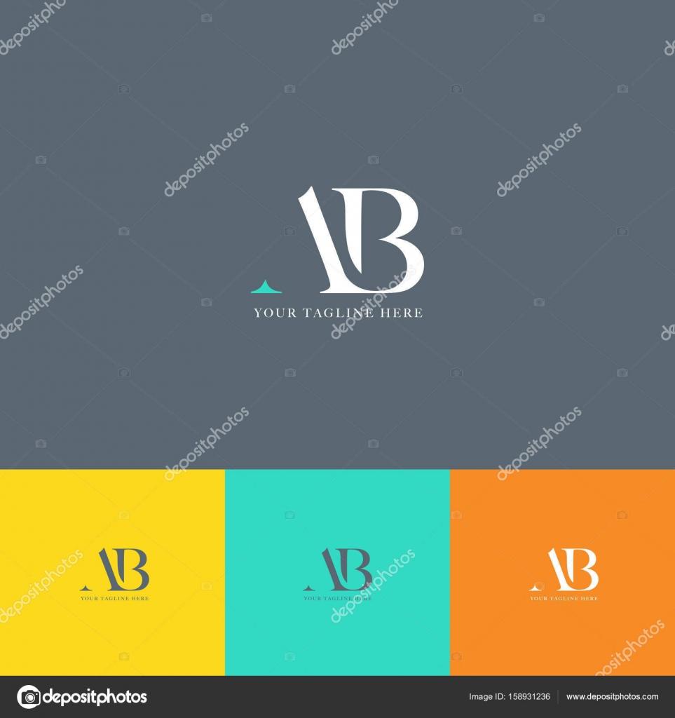 Ab letters logo business card vetor de stock brainbistro 158931236 ab letters logo business card vetor de stock reheart Choice Image