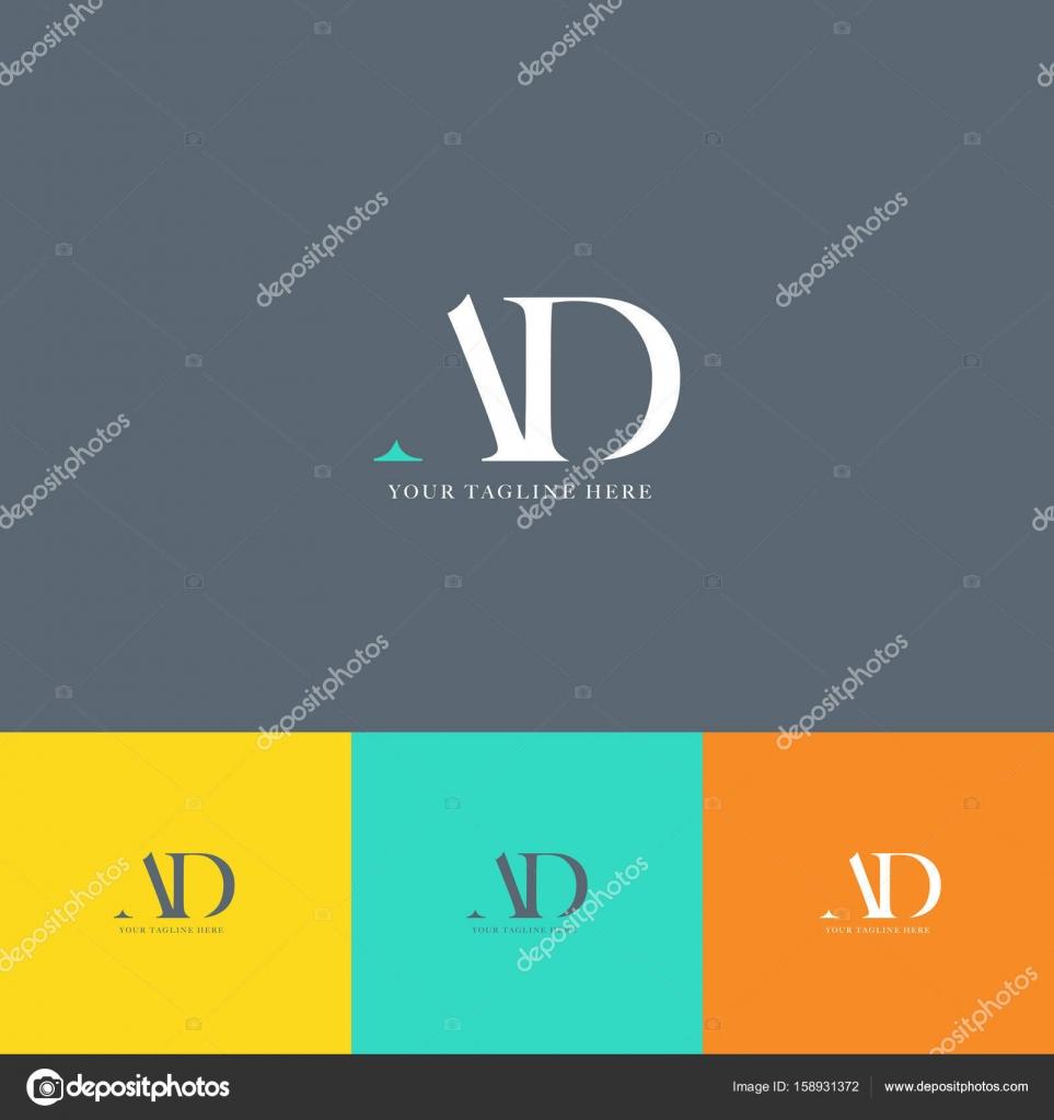 Annonce Lettres Logo Carte De Visite Image Vectorielle