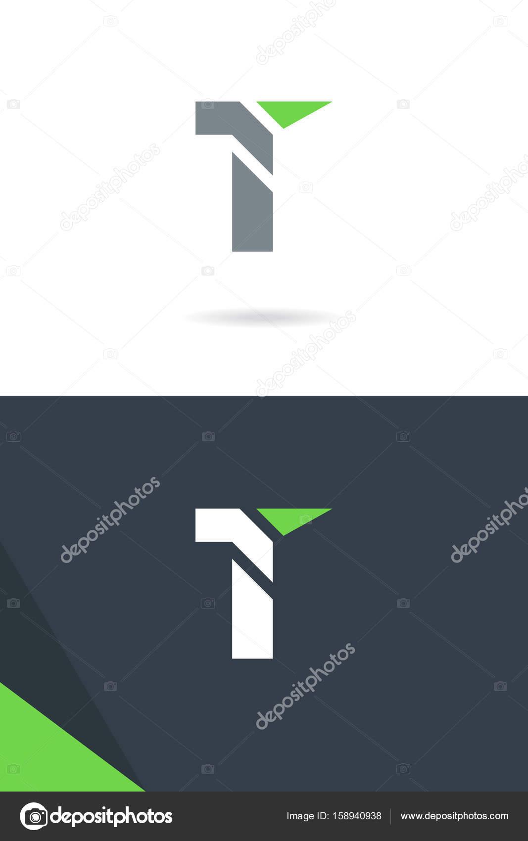 Single Letter T Logos Stock Vector Brainbistro 158940938