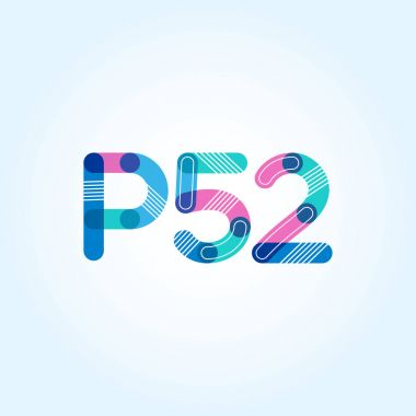 letter and digit  logo P52