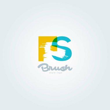 joint letters logo Fs