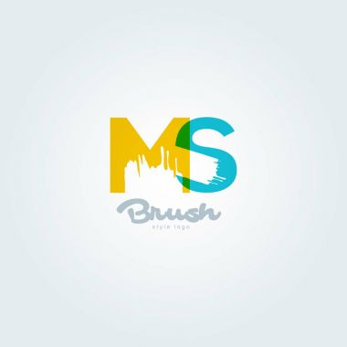 joint letters logo Ms