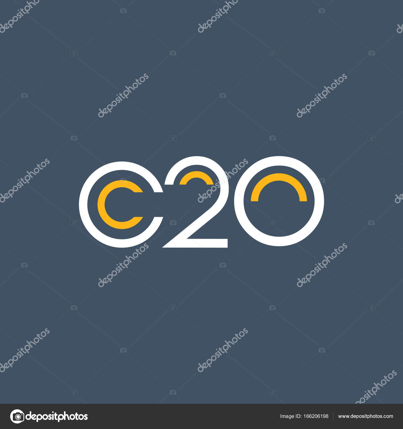 Round logo C20 logo — Stock Vector © brainbistro #166206198