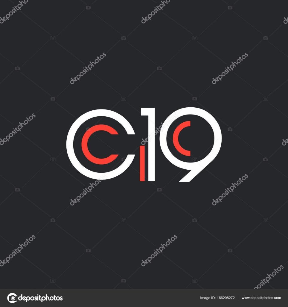 round logo C19 logo — Stock Vector © brainbistro #166208272