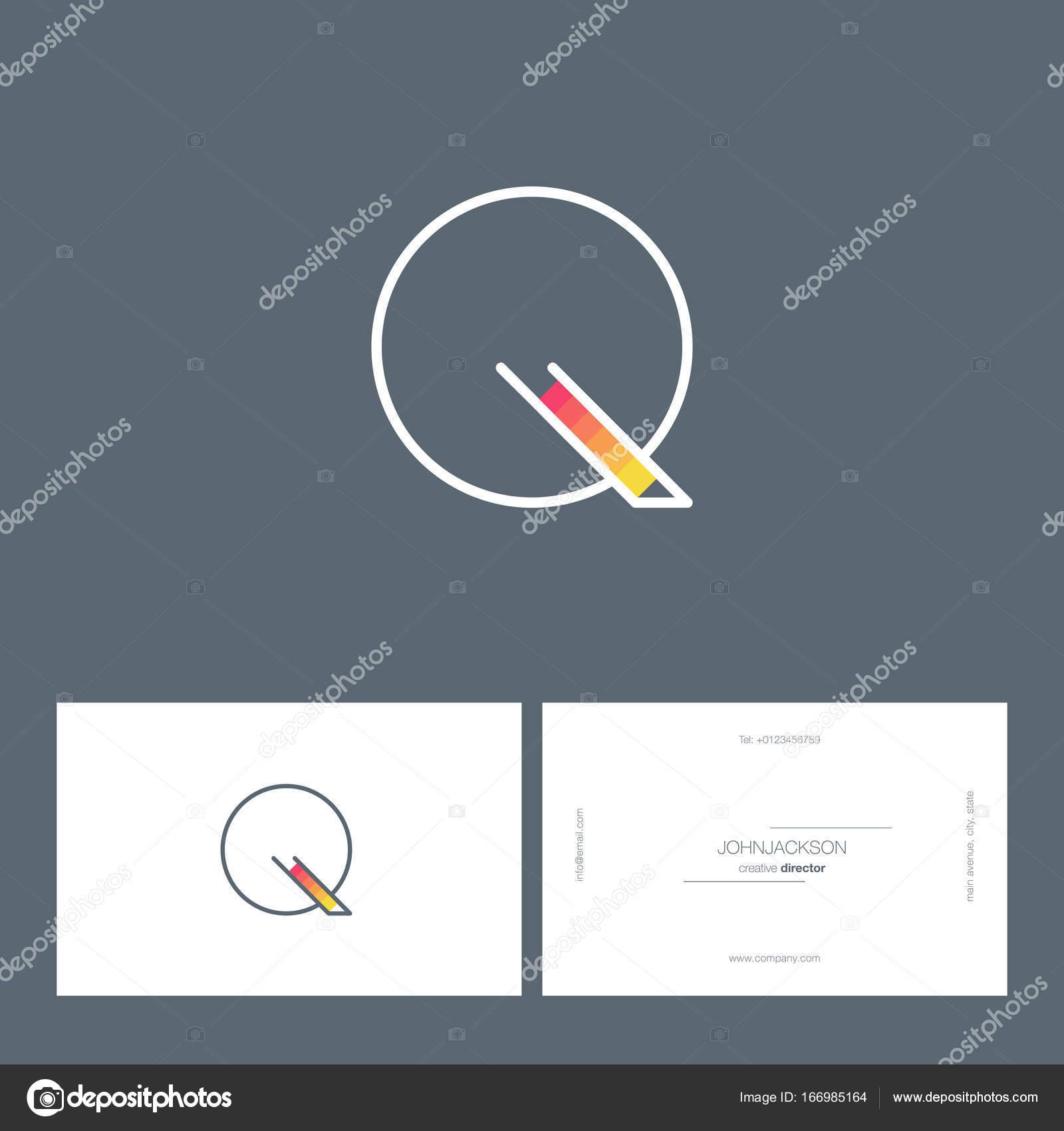 e507b9402 Logotipo de linha única letra Q — Vetores de Stock © brainbistro ...