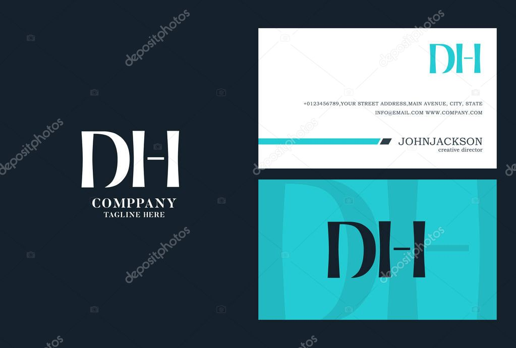 DH Joint Letters Logo