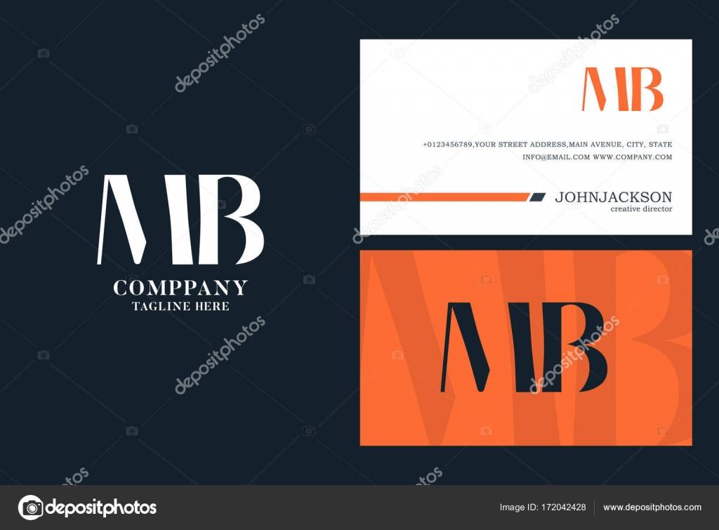 MB Joint Letters Logo — Stock Vector © brainbistro #172042428
