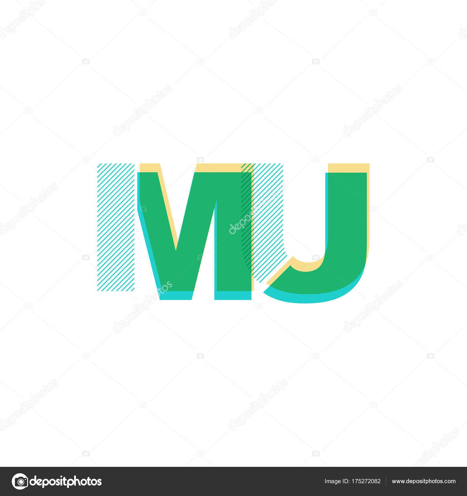joint letters logo mu stock vector brainbistro 175272082