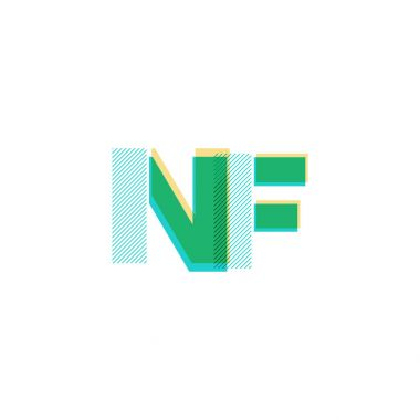 joint letters logo Nf