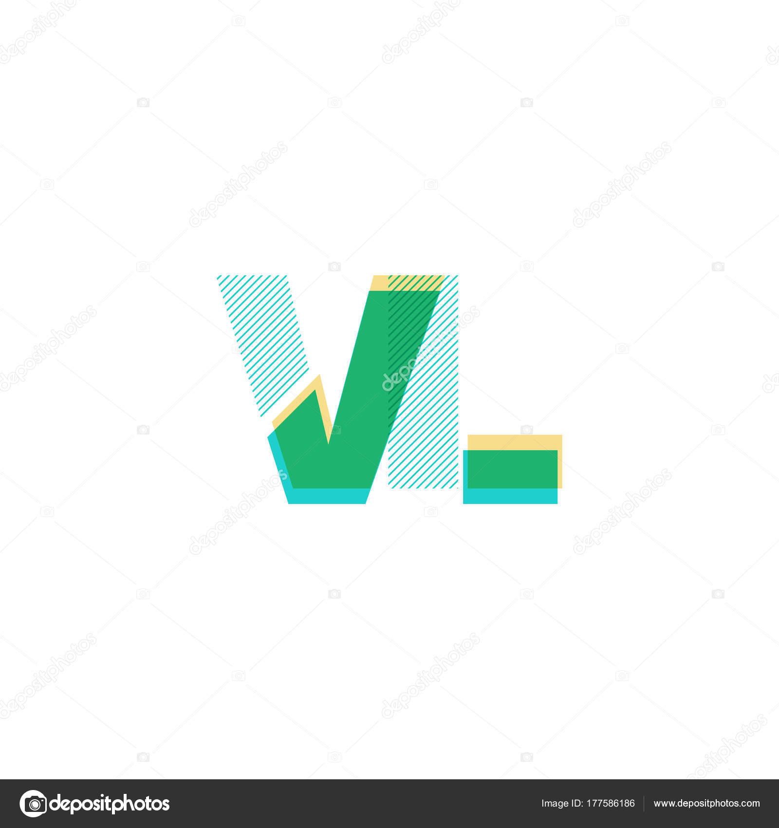 Line Logo Vl Stockvektor C Brainbistro 177586186