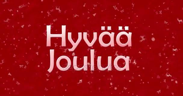 frohe weihnachten text auf finnisch hyvaa joulua wendet. Black Bedroom Furniture Sets. Home Design Ideas