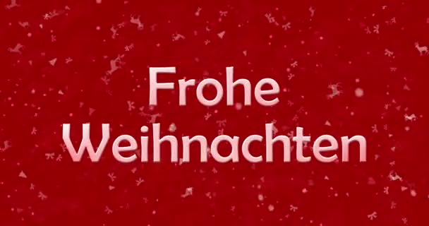 Frohe Weihnachten-Text in Deutsch \