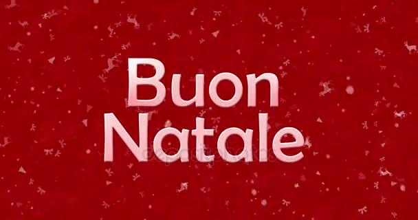 frohe weihnachten text in italienisch buon natale wendet. Black Bedroom Furniture Sets. Home Design Ideas