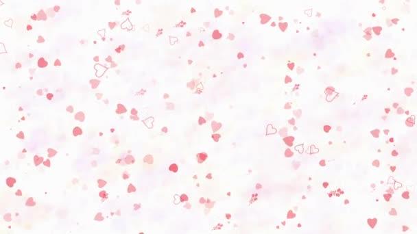 Boldog Valentin-napot szöveg képződő por, és kiderül, hogy a por horizontallyon világos háttér