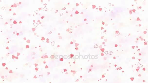 Happy Valentines Day text in Turkish Sevgililer Gununuz Kutlu Olsun formed from dust and turns to dust horizontallyon light background