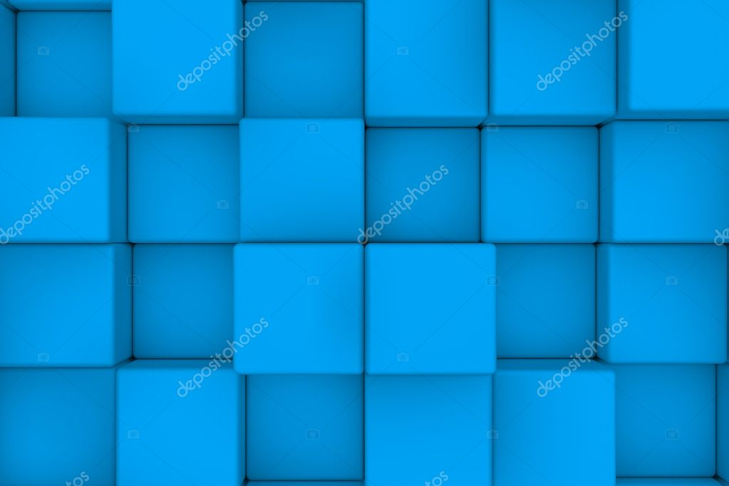Wall of light blue cubes abstract background fotos de stock wall of light blue cubes abstract background fotos de stock aloadofball Image collections