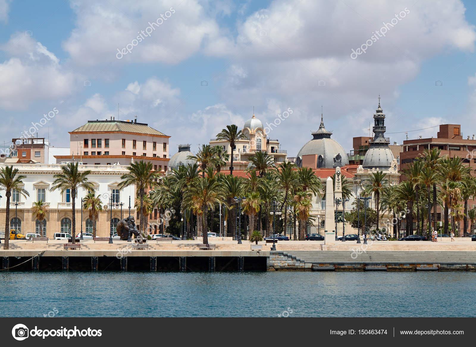 Vista de la orilla y el centro hist rico de cartagena - Centro historico de madrid ...