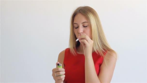kouření vidwo