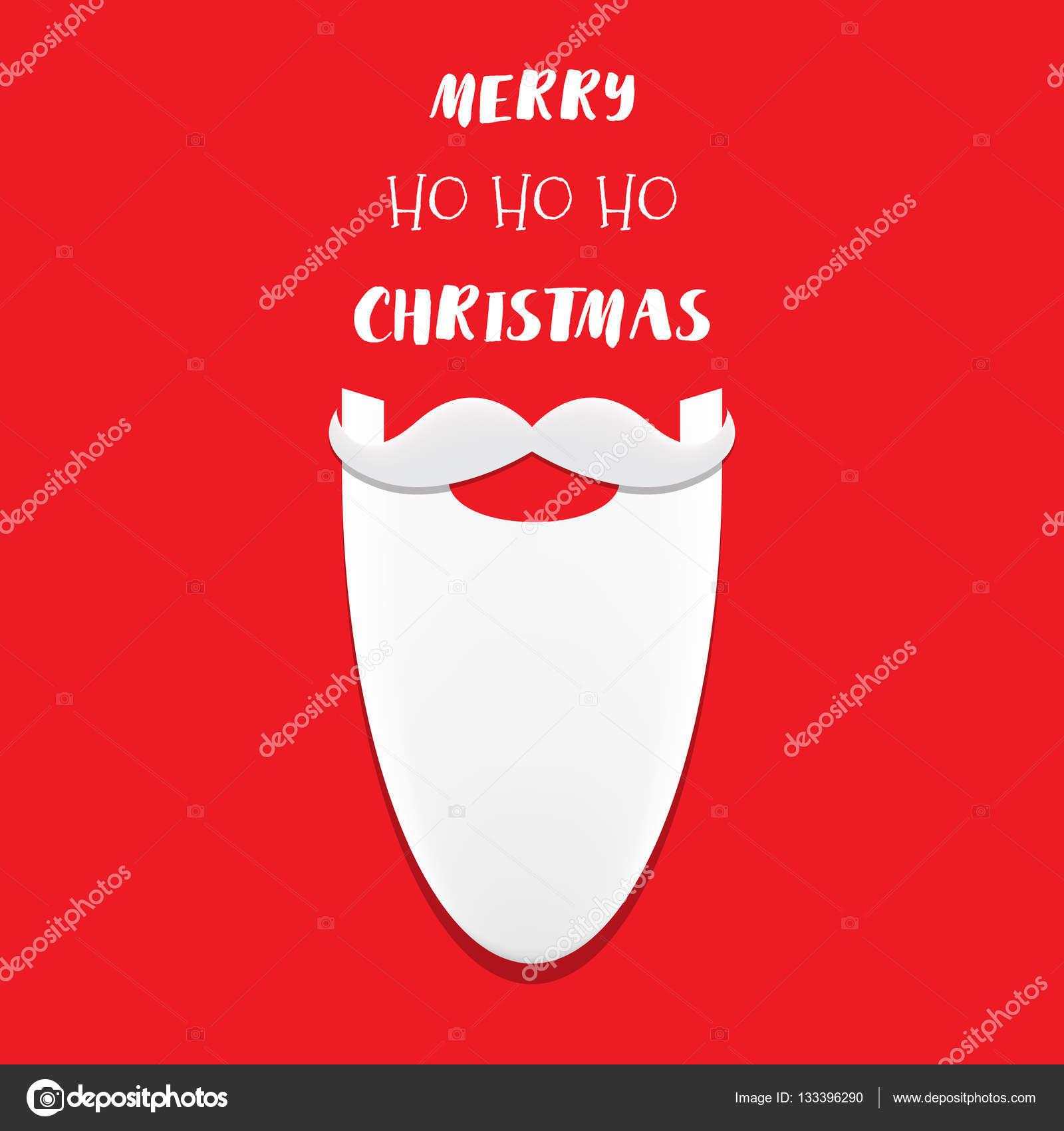 Ho Ho Ho Frohe Weihnachten.Ho Schriftzug Ho Ho Frohe Weihnachten Handgefertigte Auf Dem
