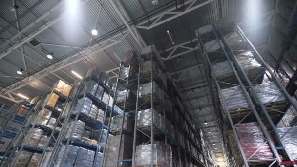 Raktárak nagy logisztikai kereskedelem szerkezete