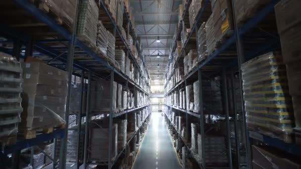 Struktura obchodu velké logistické sklady